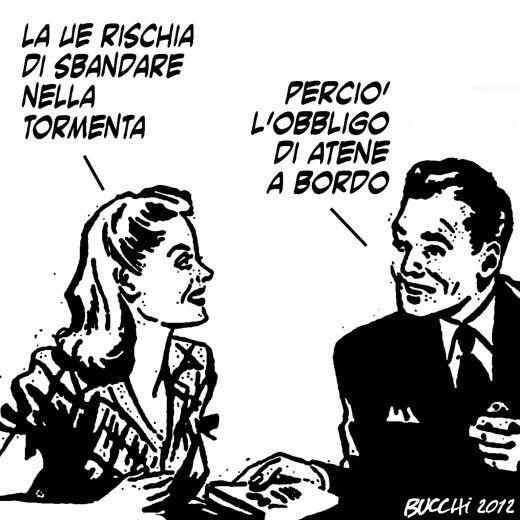 Massimo Bucchi's daily cartoon