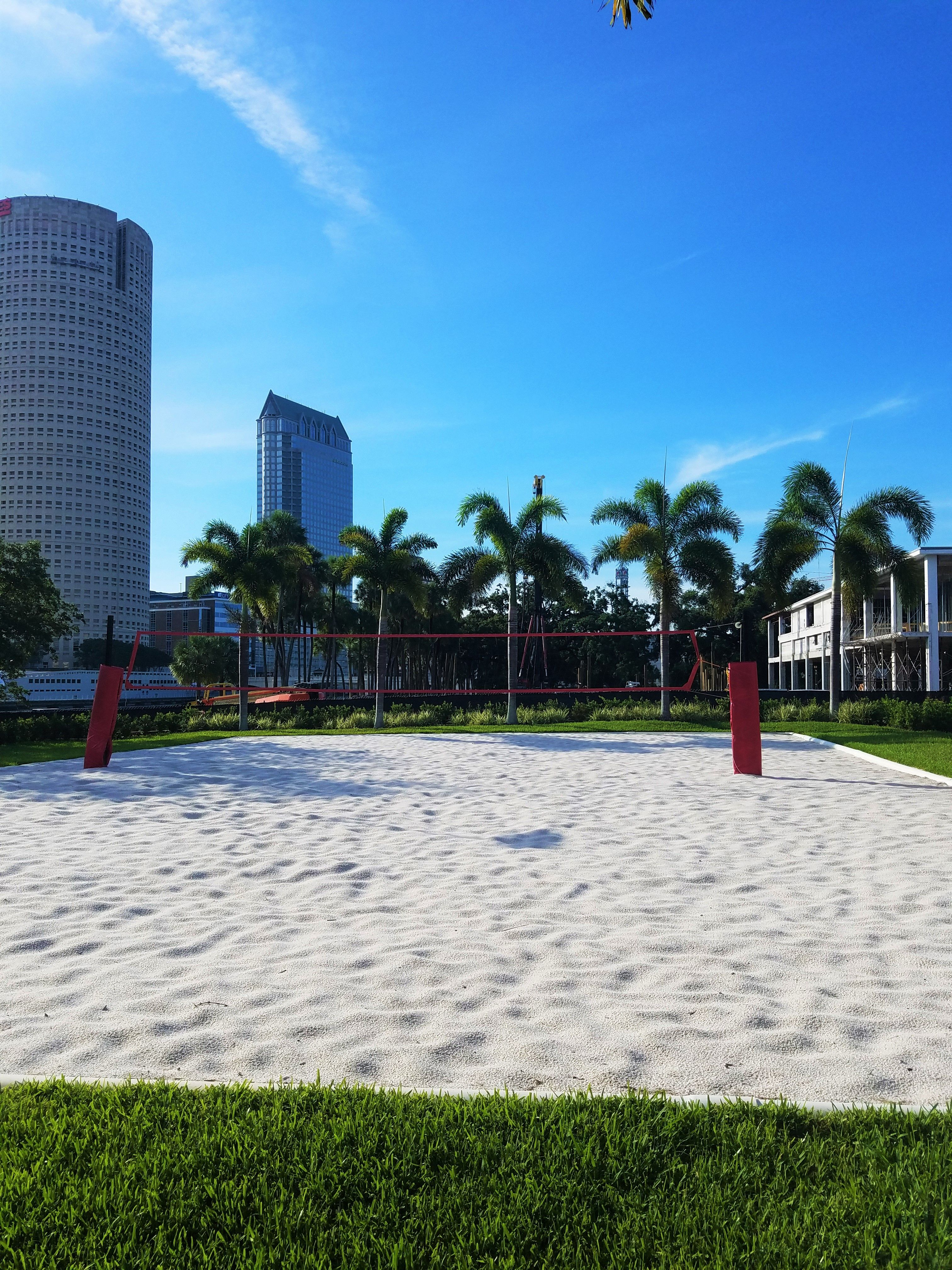 Beach Volleyball With A City View Anyone Universityoftampa University Of Tampa Colleges In Florida Tampa Florida