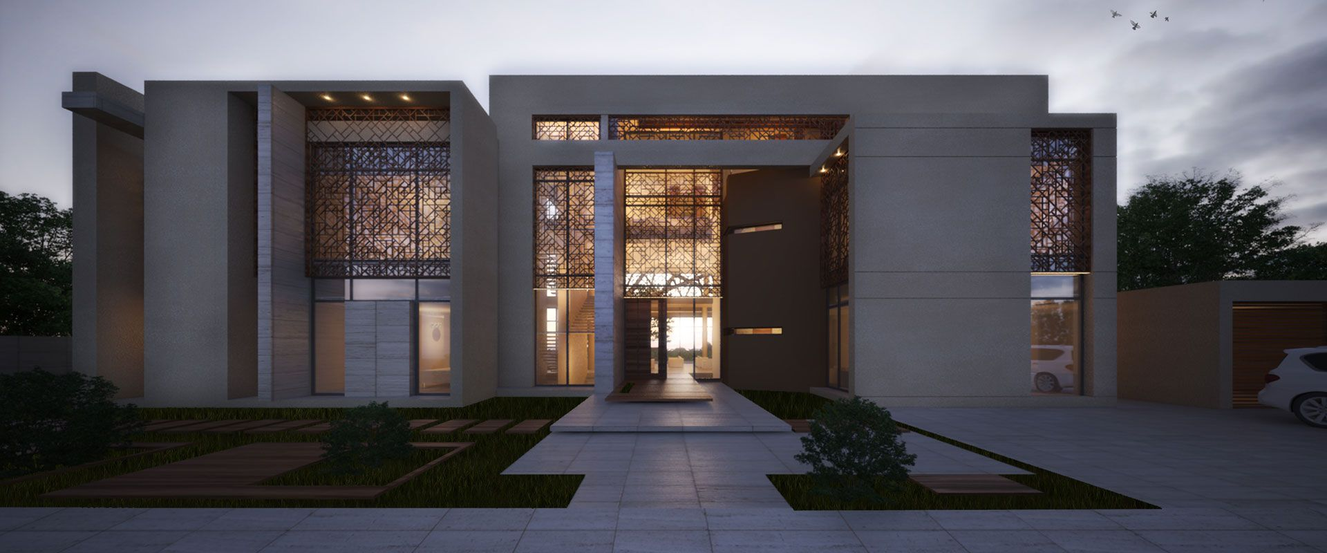 Dubai villas modern google search arabian architecture for Modern home decor dubai
