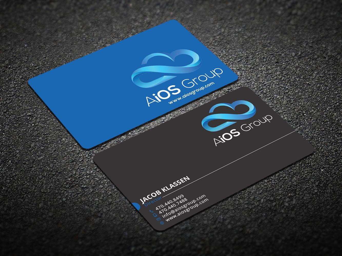 184 Upmarket Business Card Designs Information Technology Business Card Design Project For A Business In United States Business Card Design Company Business Cards Elegant Business Cards Design