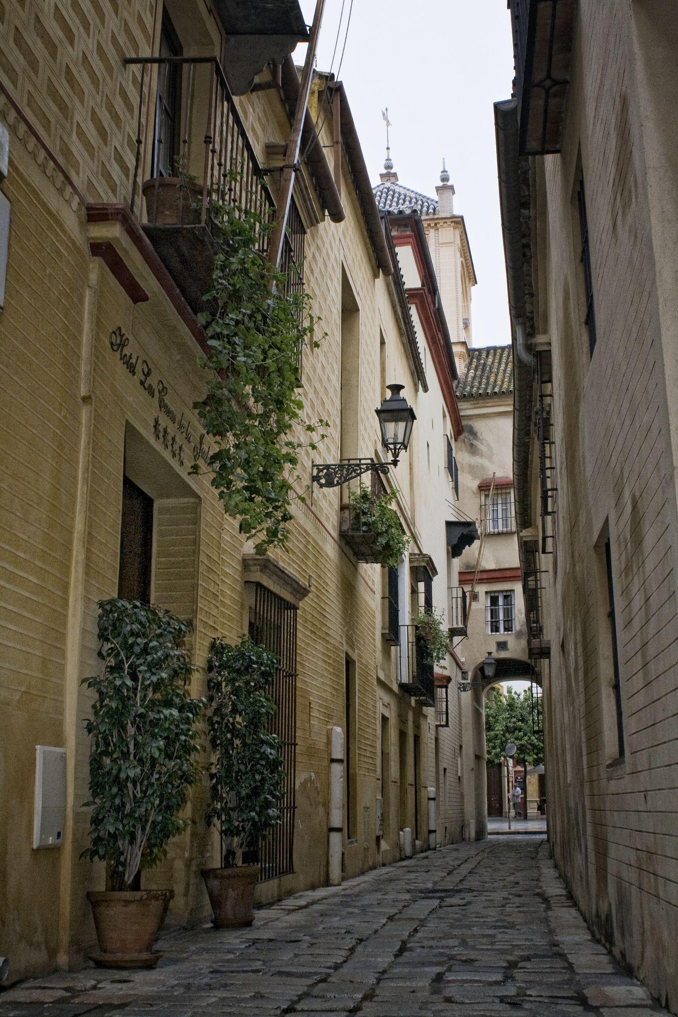 Barrio de Santa Cruz, Seville, Andalucía_ Spain