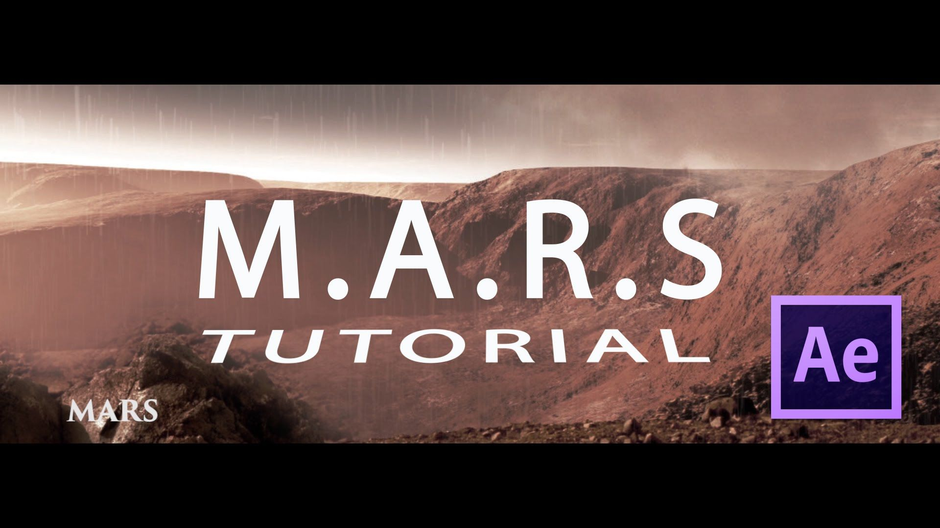 M.A.R.S Tutorial After Effects