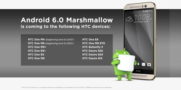 This is how the Marshmallow and Sense 7 will look on HTC One M9