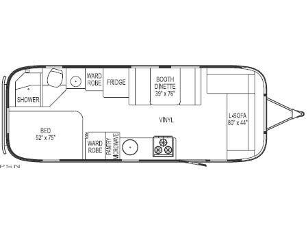 Recap 2008 Livability Of Our Airstream Ccd 25 Travel Trailer Floor Plans Airstream Vintage Airstream