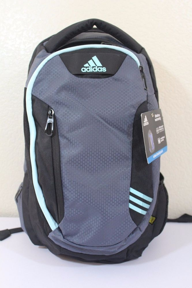 Adidas aries backpack unisex black   gray tech friendly ventilated pocket   adidas  Backpack 38d1f81354a11