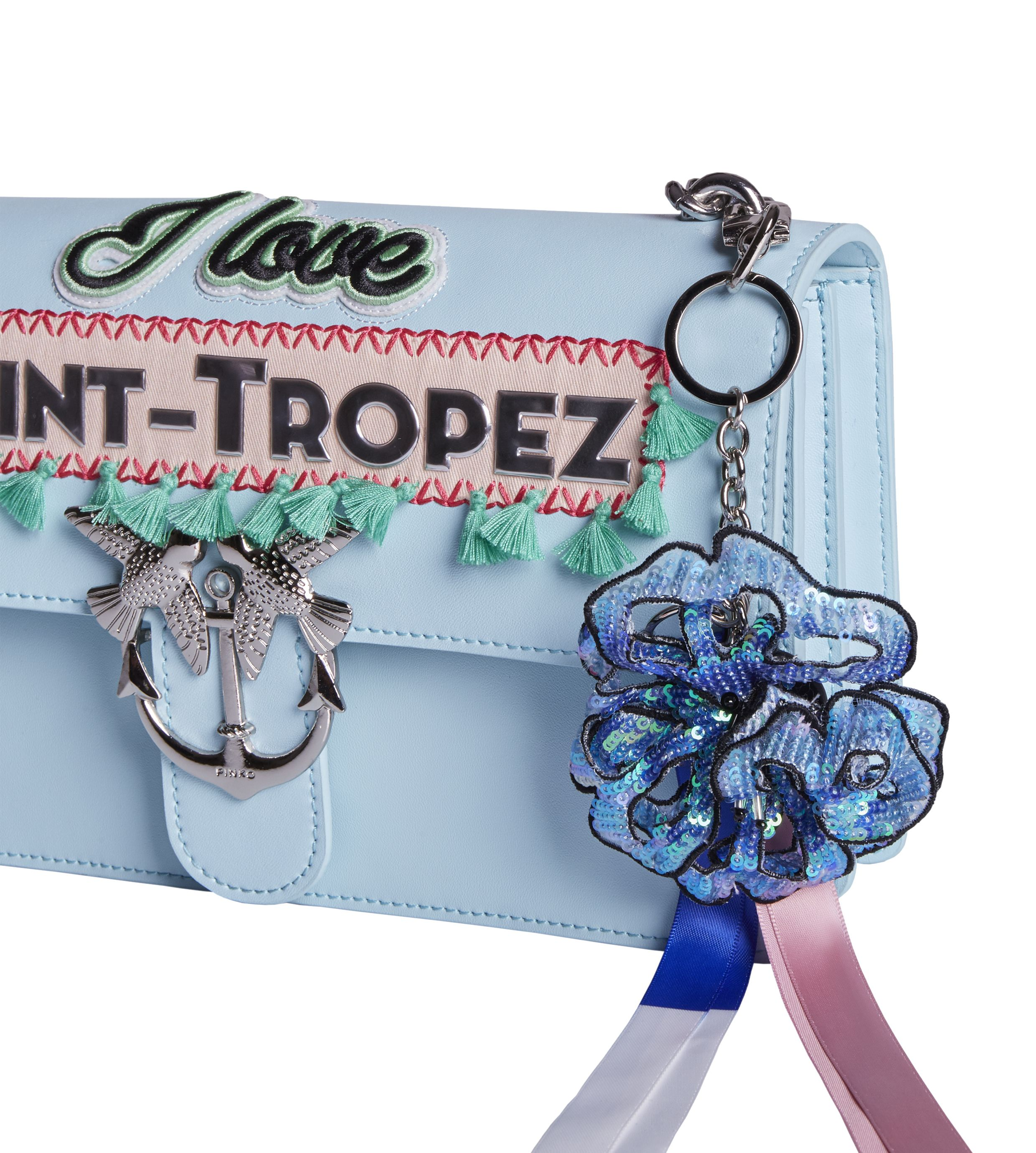 SAINT TROPEZ PINKO Love Bag Resort - Limited Edition. Available only at our PINKO store in Saint Tropez, 7, Rue Gambetta.