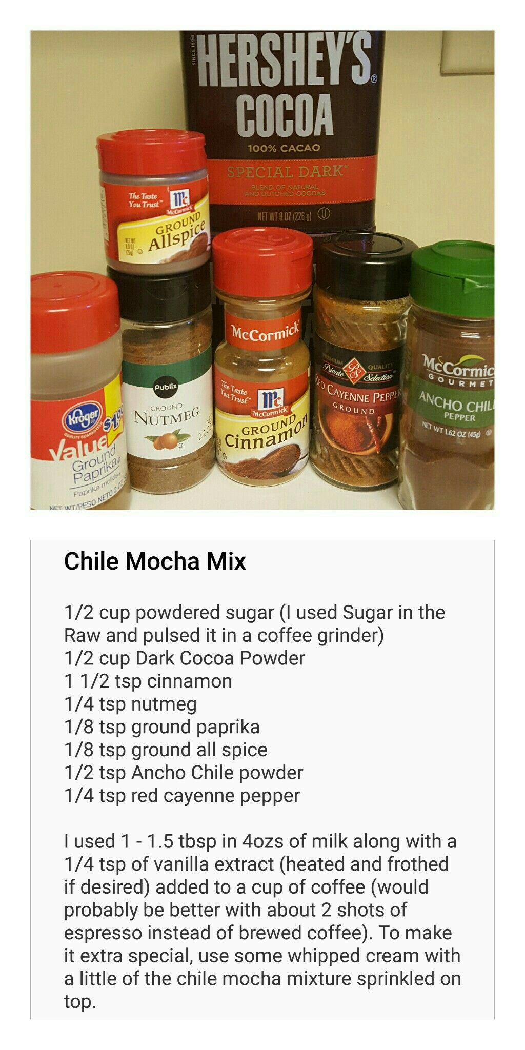 Chile Mocha Mix I loved the sound of Starbucks' newest