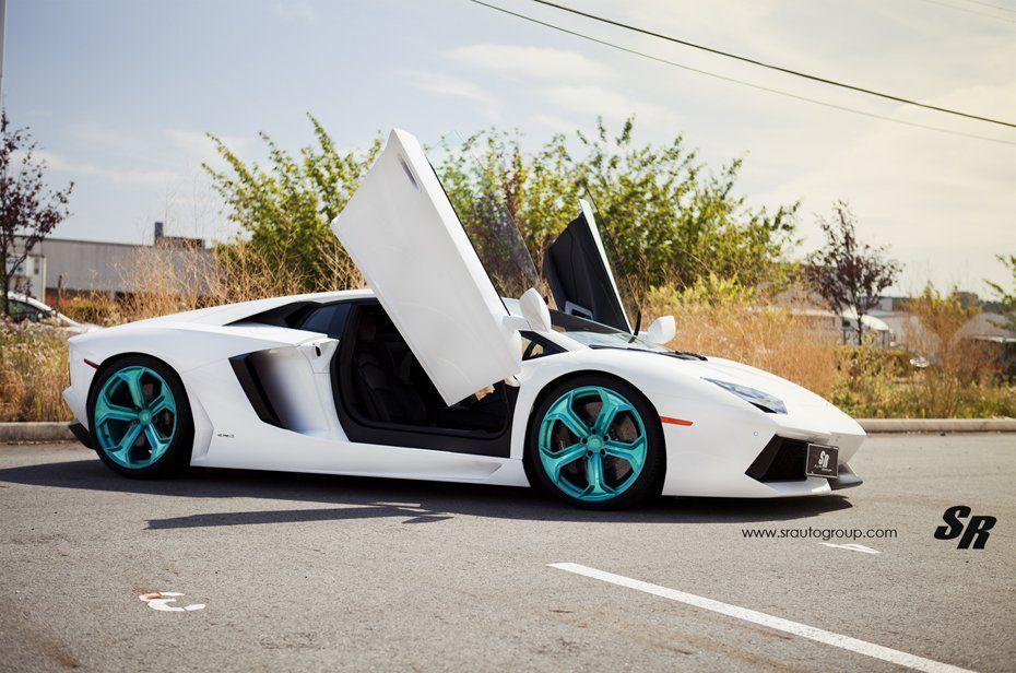 SR Auto Lamborghini Aventador On Emerald Wheels