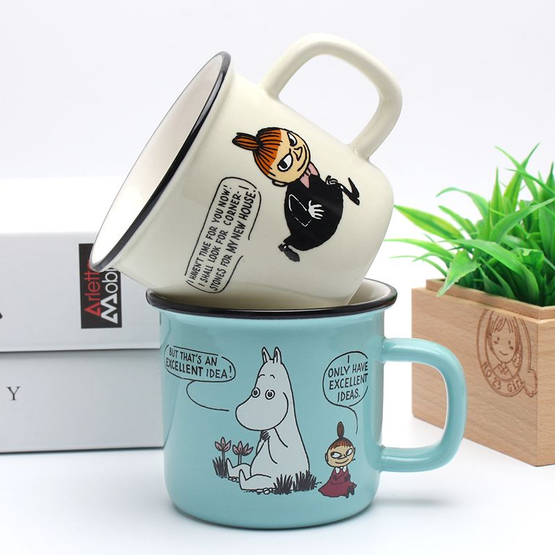 cute cups / coffee mug with characters from The Moomins comics