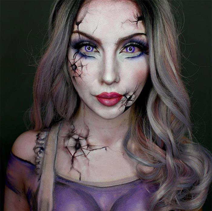 Pin by Roxanne on special efects makeup | Pinterest | Makeup