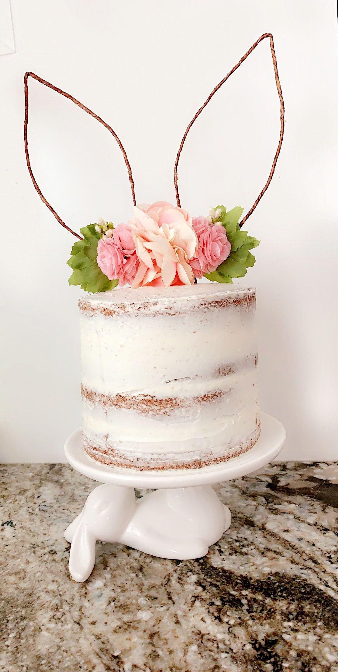 Bunny Cake #firstbirthdaygirl