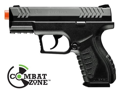 Combat Zone Enforcer Compact CO2 Airsoft Pistol by Umarex, 400 FPS - AirRattle - Welcome to amazing airsoft gun prices and customer service - air soft specialist 28.95