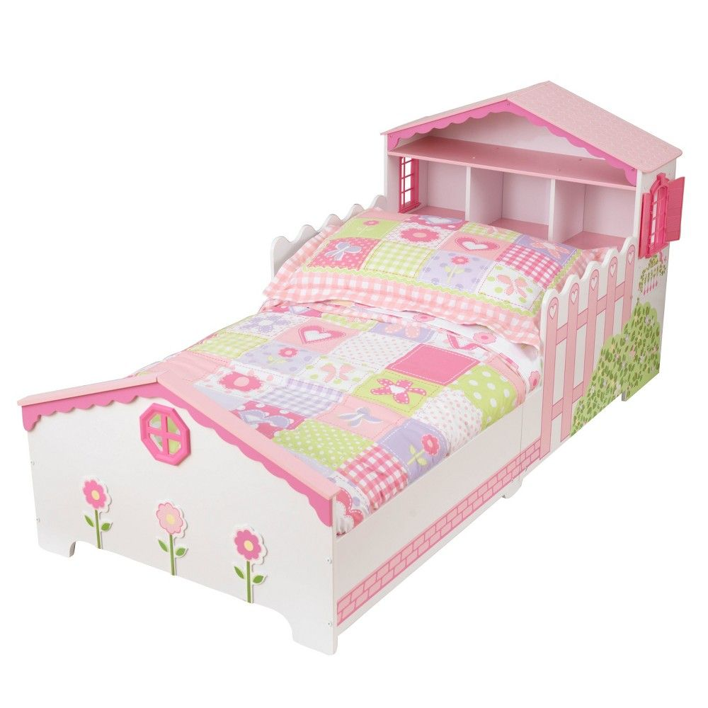 Kidkraft Dollhouse Toddler Bed Pink White Products Pinterest
