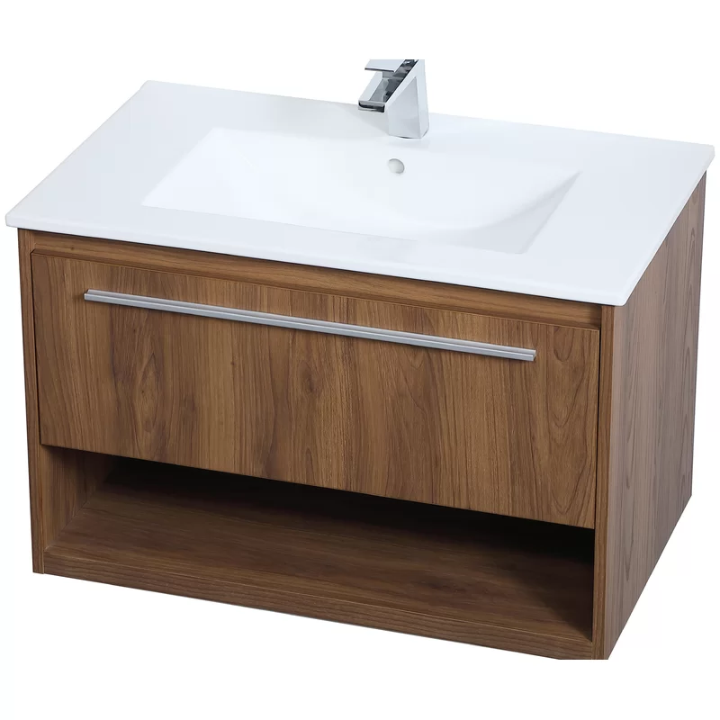 Orren Ellis Lanz 30 Single Bathroom Vanity Set Wayfair Single Bathroom Vanity Bathroom Vanity Vanity Set