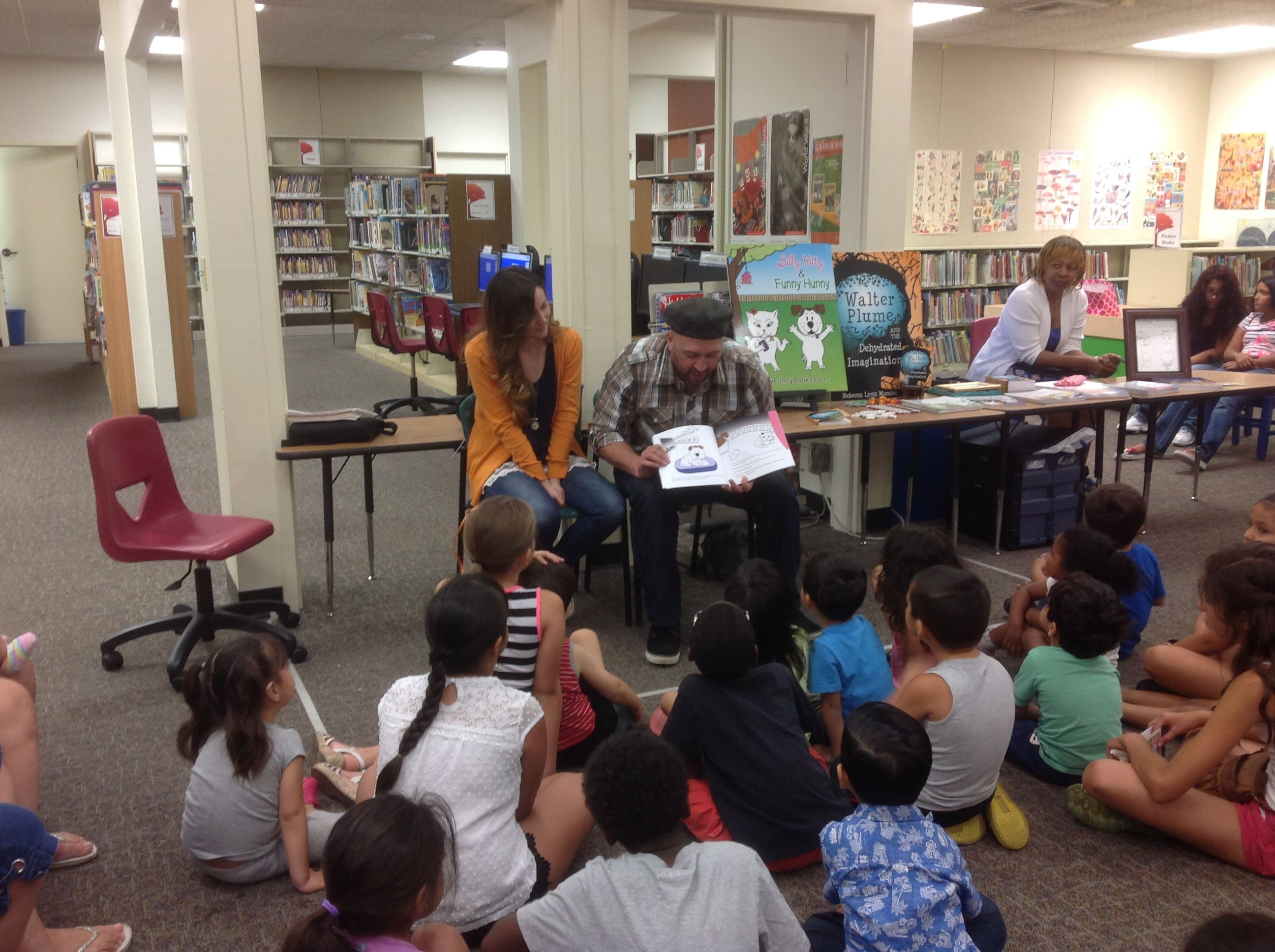 Gabriel And Rebecca Morales Author And Illustrator Of The