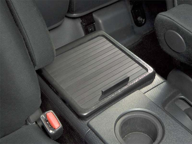 Fj Cruiser Roll Top Console Cover Insert Panamint With