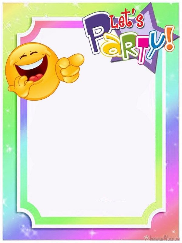 Emoji Invitations for the Perfect Party is part of Emoji party invitations, Emoji invitations, Emoji party invitations free printable, Free printable party invitations, Emoji theme party, Emoji party - Are you looking for free emoji birthday party invitation  We offer you free templates if you want to make unforgettable personalized Emoji invitations