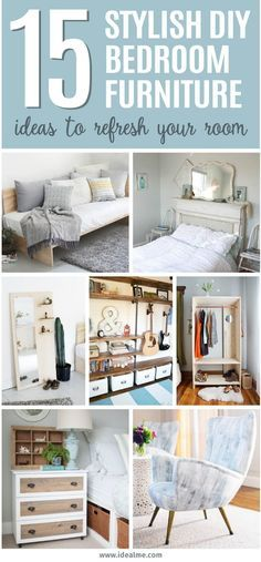 Stylish DIY Bedroom Furniture Ideas To Update And Refresh Your - How to update bedroom furniture