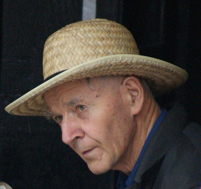 2012 09 15 Doddy Straw Hat Straw Hat Mennonite Ontario