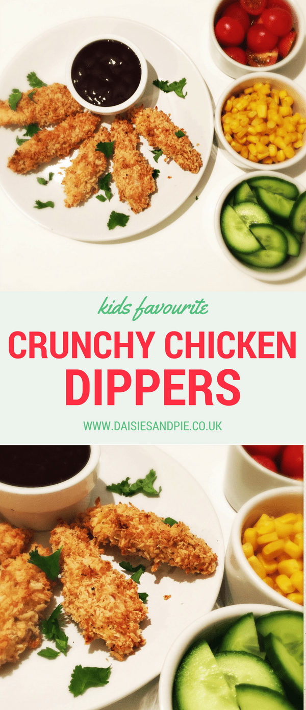 Crunchy Chicken Dippers
