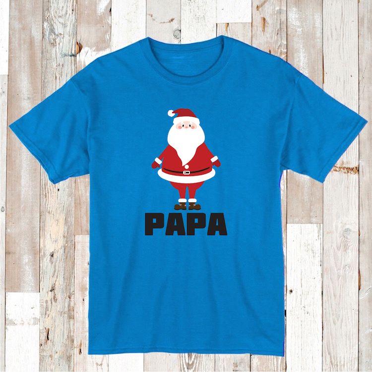 Kids Santa Claus Shirt Adult Santa Tee Santa Baby Clothes Family