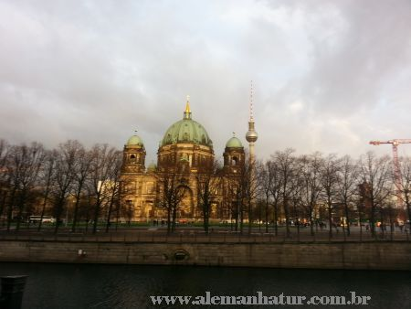 Magnífica Catedral de Berlim