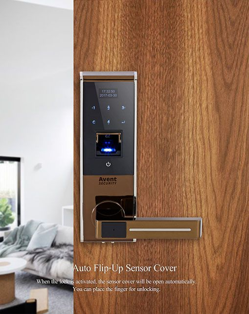 Avent Security M500 electronic security door lock with touch