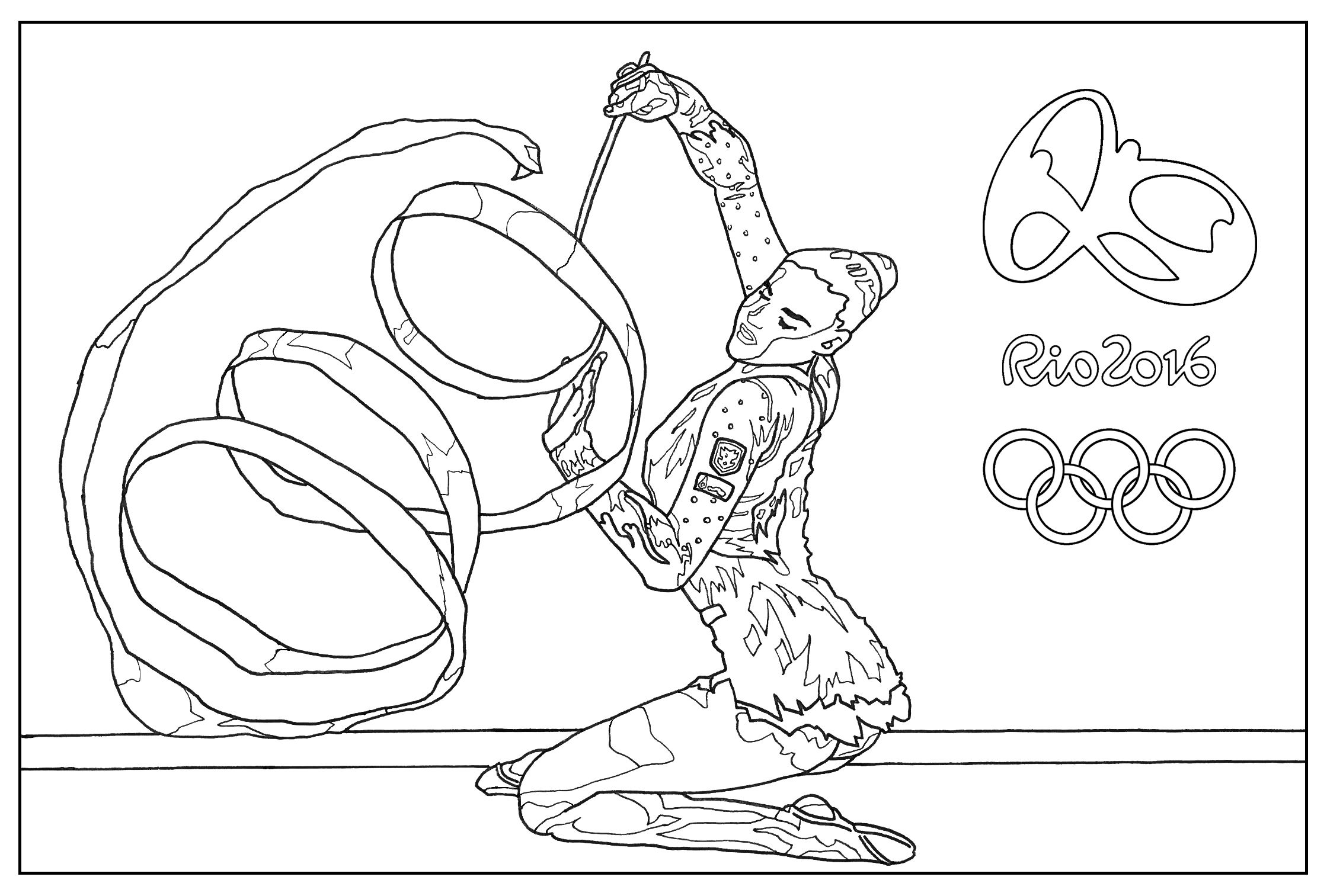 Free coloring page coloring-adult-rio-2016-olympic-games-gymnastic ...