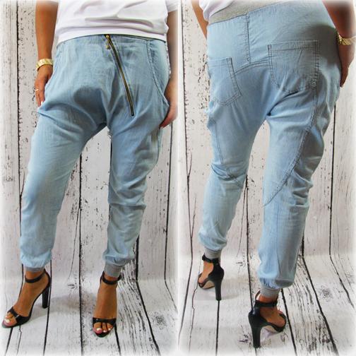 A Moze Na Jesien Zafundujecie Sobie Wloskie Spodnie Dresowe Z Obnizonym Krokiem Tym Nowoczesnym Stylem Na Pewno Wpasujecie Sie W Obec Mom Jeans Fashion Pants