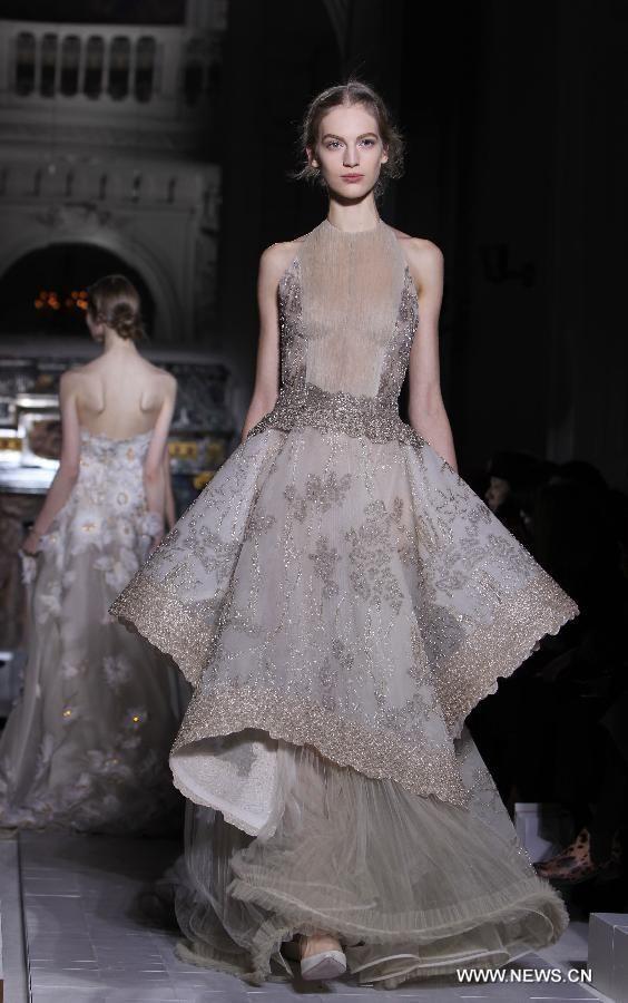 Valentino, Paris Fashion Week, 2013