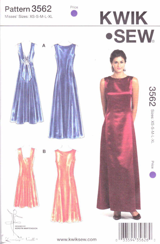 Kwik Sew Sewing Pattern 3562 Misses Sizes XS-XL (approx 6-22 ...