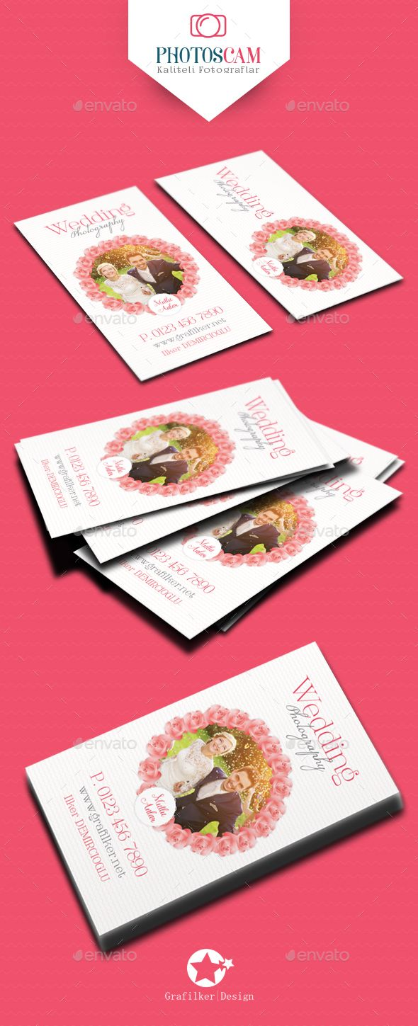 Wedding business card templates fonts logos icons pinterest wedding business card templates alramifo Gallery