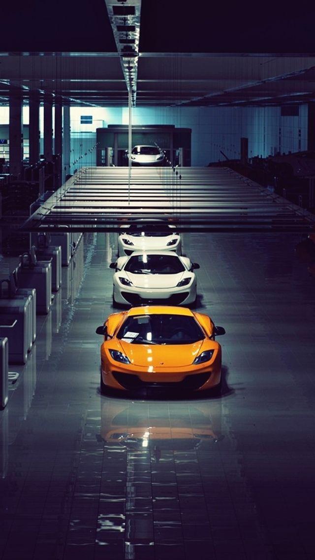 McLaren MP4 12C Line Up