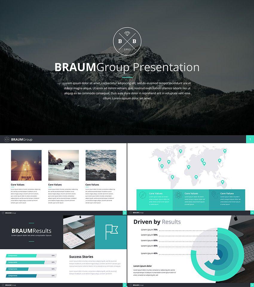 google slides business presentation theme presentation pinterest