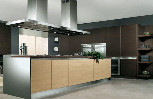 Cucina Venere - rovere light e rovere moro, Arredo 3 Cucine | Home ...