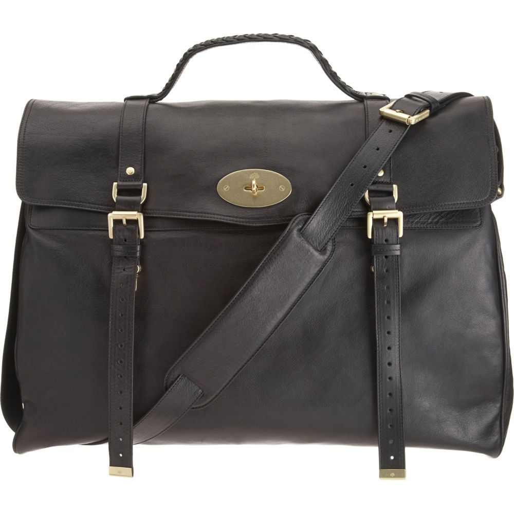 c522f0a85074 ... switzerland leather mulberry postmans lock travel bag 75afb 8bd6d