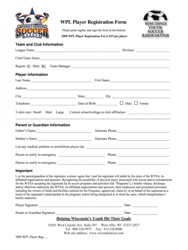 Sensational Registration Form Template Word Ideas Contest