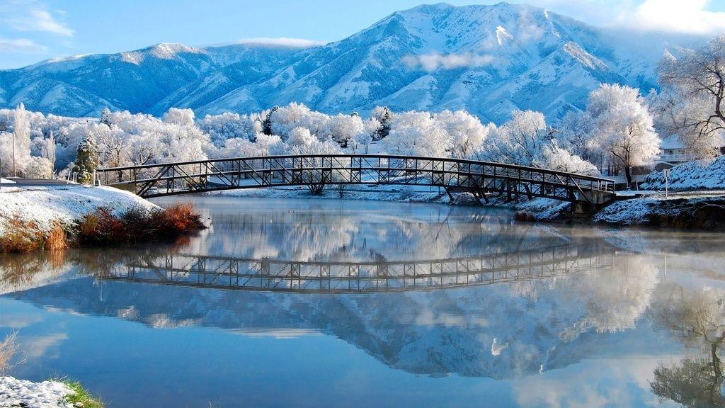 The 50 Best Desktop Wallpapers For 2013 Winter Landscape Winter Wallpaper Winter Scenery