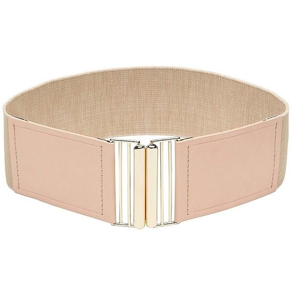 Witchery Nera Belt (11 NZD) ❤ liked on Polyvore featuring accessories, belts, nude, stretch belt and stretchy belts