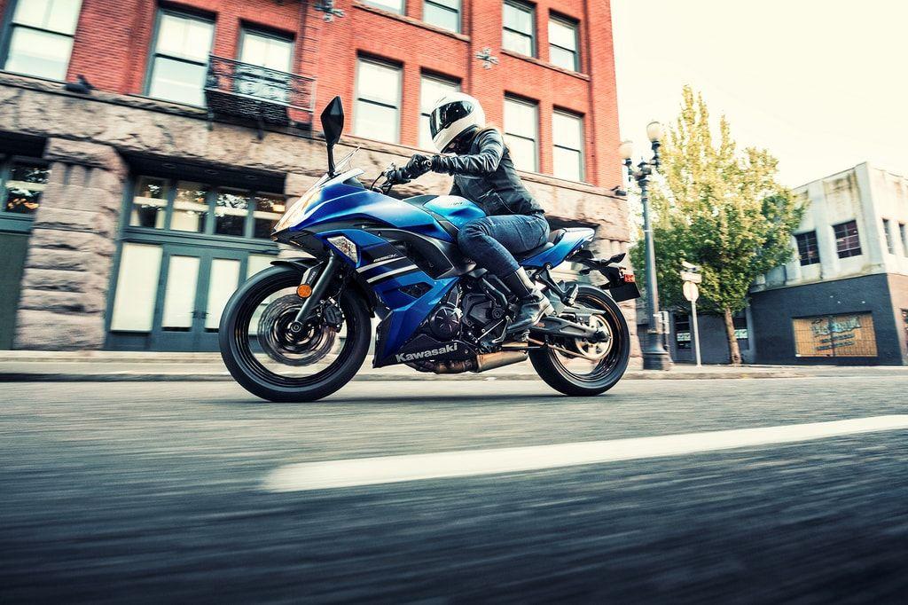 Kawasaki Ninja 650 Blue Price Is Rs. 5.33 Lakhs Kawasaki