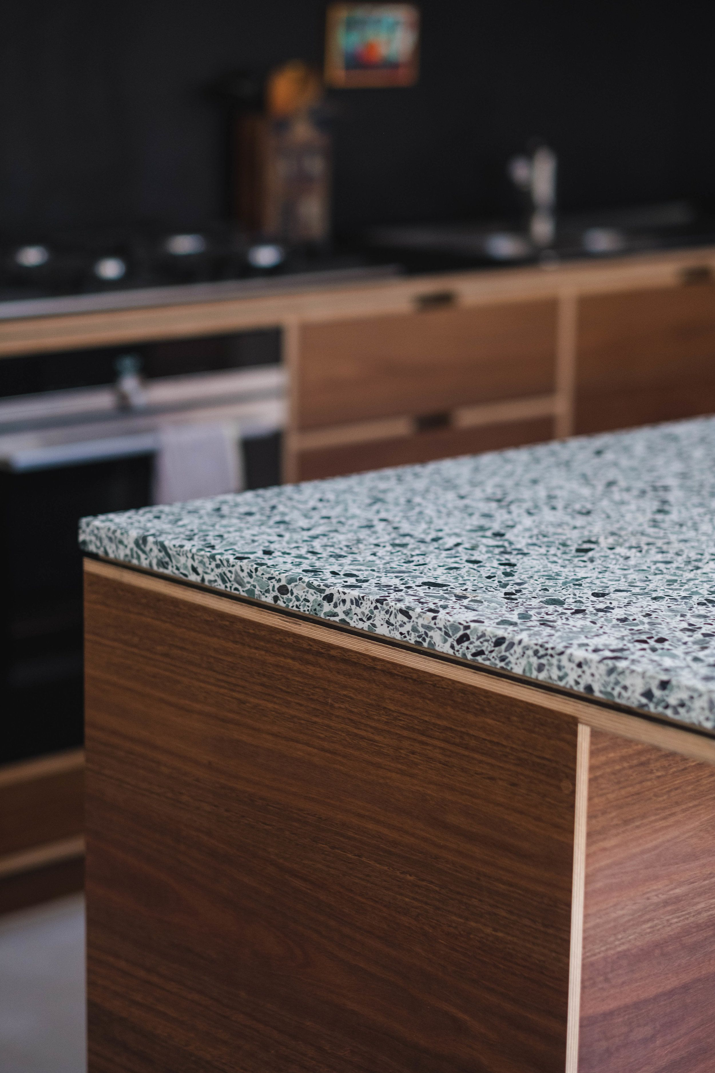 Astonishing Terrazzo Benchtop In 2019 Kitchen Terrazzo Kitchen Dining Gmtry Best Dining Table And Chair Ideas Images Gmtryco