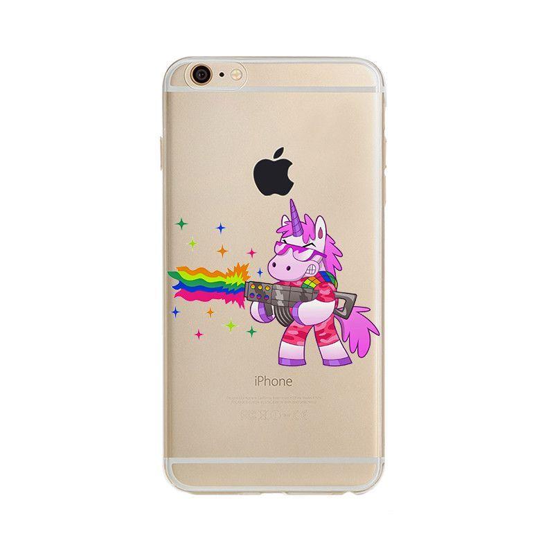 Funny Unicorn iPhone Case