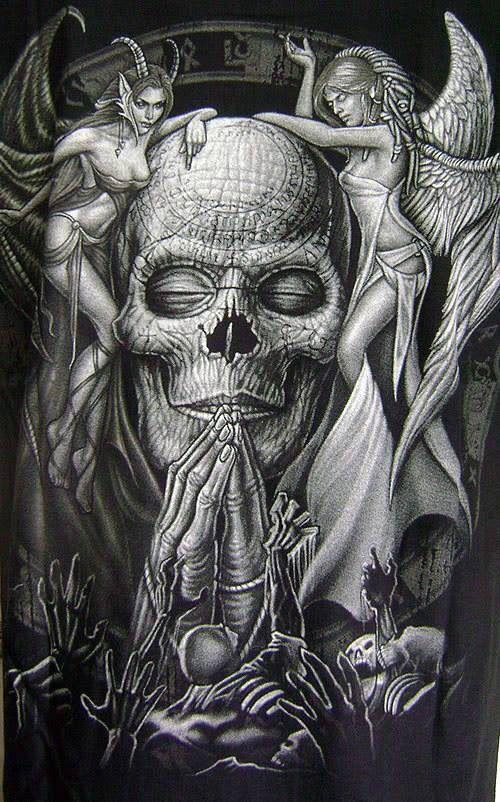 Pin On Skull Tattoos