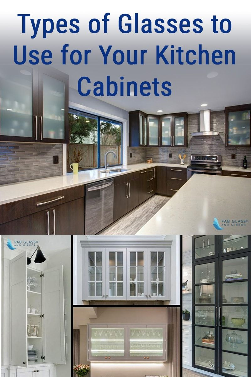 Types Of Glasses To Use For Your Kitchen Cabinets In 2020 Glass Kitchen Cabinets Modern Kitchen Glass Cabinets Glass Cabinets Display