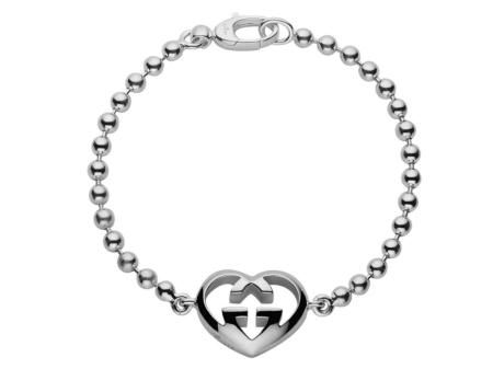 Check Out This Gucci Love Britt Bracelet With Boule Chain In Sterling Silver Gucci Jewelry Gucci Bracelet Bracelet Shops
