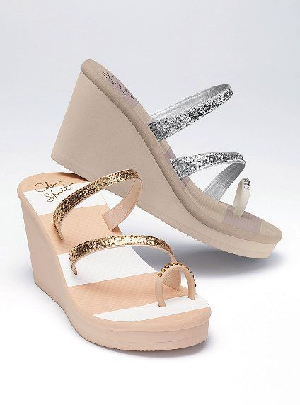 0f189de56f0 Victoria s Secret Toe-ring  Wedges  Sandals  shoes .. I  3 These ...