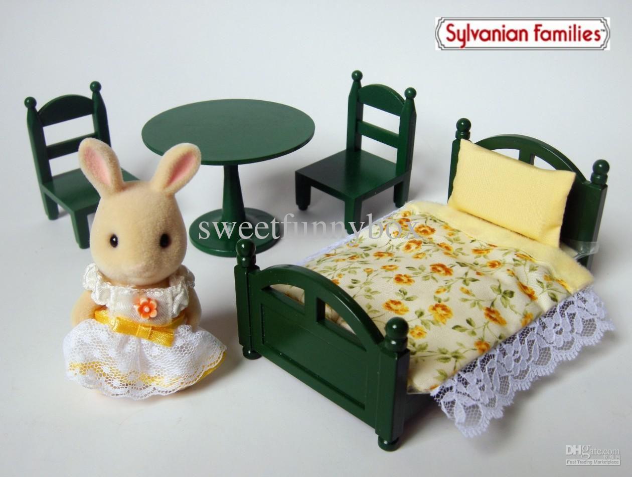 Sylvanian Families Bedroom Furniture Set Wholesale Bed Table Buy Sylvanian Families Family Jp Vintage