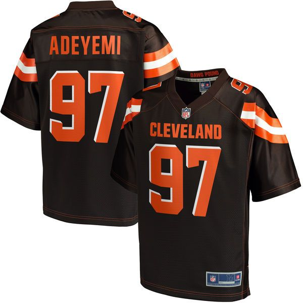 6a64c8a2a Kenton Adeyemi Cleveland Browns NFL Pro Line Youth Player Jersey - Brown -   74.99