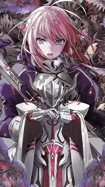 Artoria & Mordred Fate/Grand Order Wallpaper em 2020