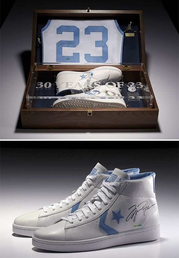 Michael Jordan x Converse Limited Edition Signed Commemorative Pack ... bfdab2cdd